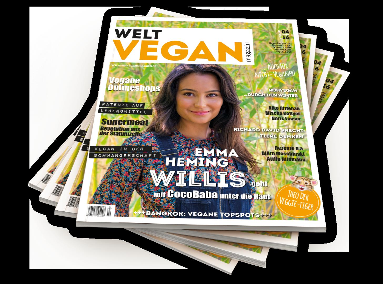 probeabo 2 print ausgaben welt vegan magazin digital. Black Bedroom Furniture Sets. Home Design Ideas