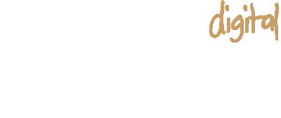 Logo digital weiß beige